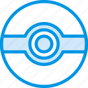 cinema, film, movie, pokeball, pokemon icon