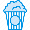 cinema, corn, film, food, movie, popcorn icon