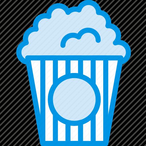cinema, corn, film, food, movie, popcorn icon