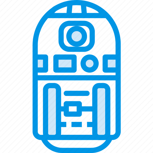 cinema, film, movie, robot, star, wars icon