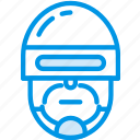 cinema, cop, film, movie, police, robocop icon