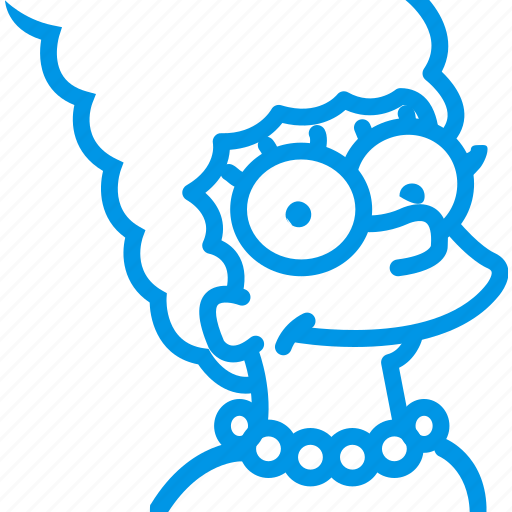 character, cinema, film, marge, movie, simpsons icon