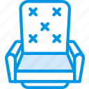 chair, cinema, film, movie, vip icon
