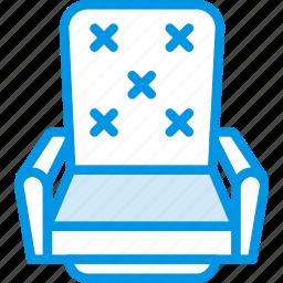 chair, cinema, film, movie, vip icon