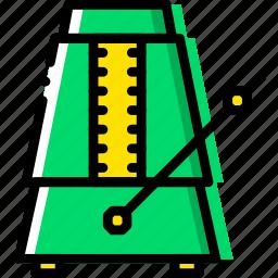 metronome, music, play, sound icon