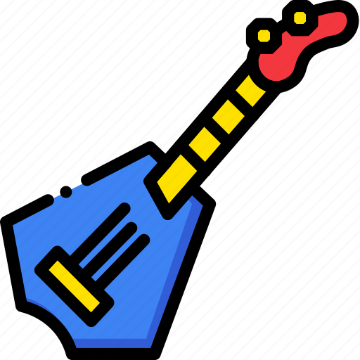 guitar, music, play, rockstar, sound icon