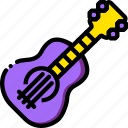guitar, music, play, sound