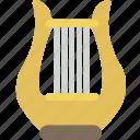 harp, instrument, music, orchestra, sound