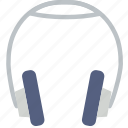 headphones, instrument, music, sound icon