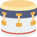 bass, concert, drum, instrument, music, sound icon