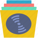 disc, music, records, sound, tune icon