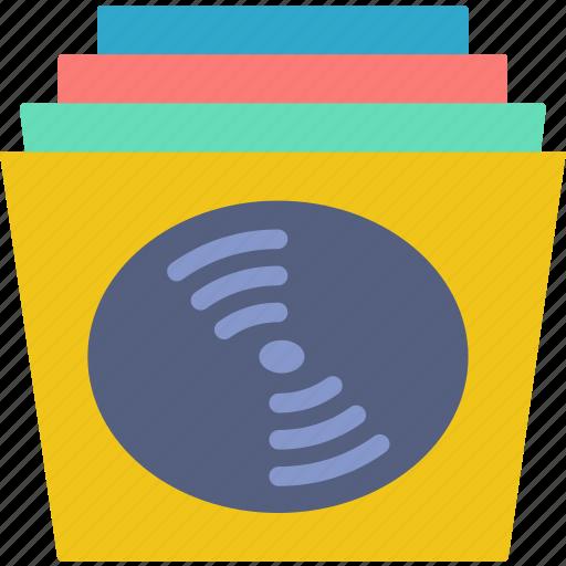 disc, music, records, sound, tune icon