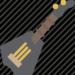 guitar, instrument, music, rockstar, sound icon