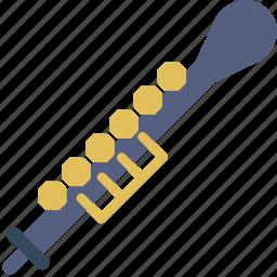 instrument, music, oboe, orchestra, sound icon