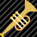 sound, instrument, orchestra, trumpet, music