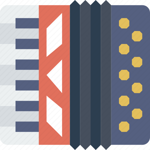 accordion, instrument, music, sound icon