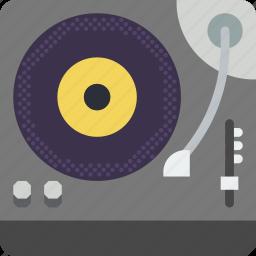 dj, music, sound, tune, turntable icon