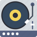 dj, music, sound, tune, turntable icon