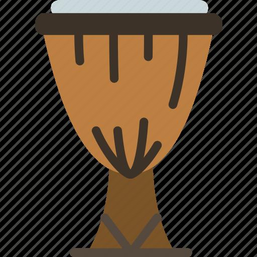 african, drum, instrument, music, sound icon