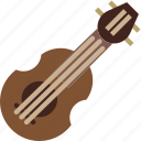 balalaika, instrument, music, sound icon