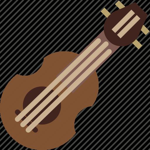 balalaika, instrument, music, sound icon
