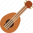 instrument, music, sound, ukulele icon