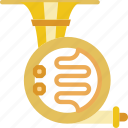 french, horn, instrument, music, orchestra, sound icon