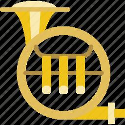 instrument, music, orchestra, sound, tuba icon