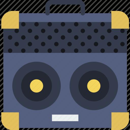 amplifier, concert, guitar, music, sound, tune icon