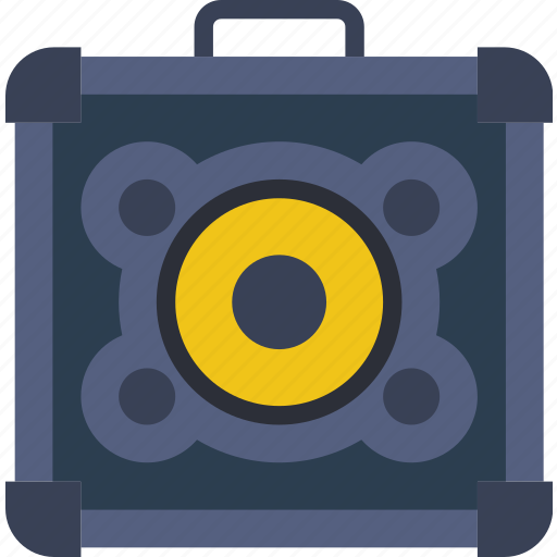 amplifier, concert, guitar, music, sound, tune icon