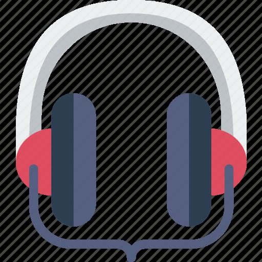 headphones, instrument, music, sound, studio icon