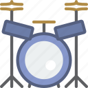 concert, drum, instrument, music, set, sound icon