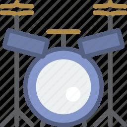 concert, drum, instrument, music, set, sound icon