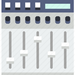 device, equalizer, music, sound, tune icon