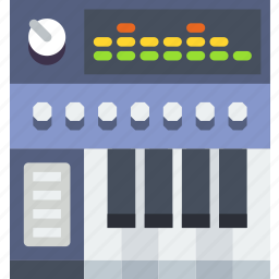 controller, digital, looping, music, piano, sound, tune icon
