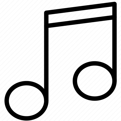 Music, musical, note, sound, tune icon - Download on Iconfinder