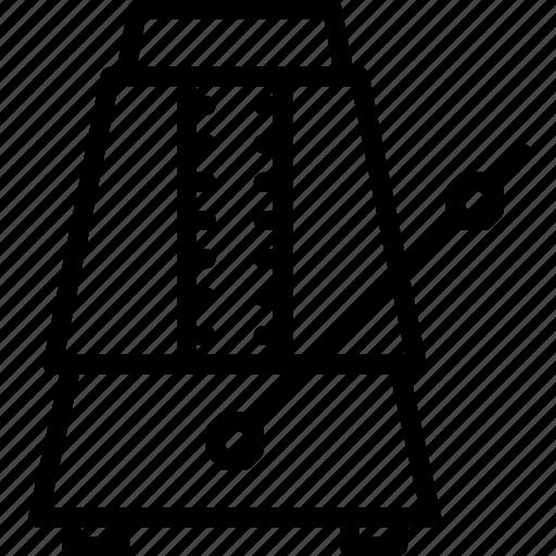 instrument, metronome, music, sound, tune icon