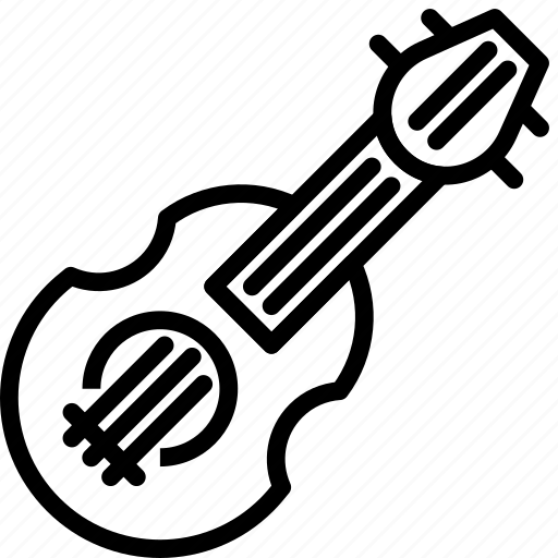 balalaika, instrument, music, russian, sound, tune icon