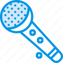 instrument, microphone, music, show, sound, tune, voice icon