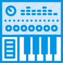 controller, digital, instrument, music, sound, tune icon