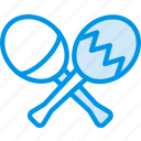 instrument, maracas, music, sound, tune icon