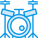 concert, drum, instrument, music, sound, tune icon