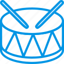 circus, drum, instrument, music, sound, tune icon