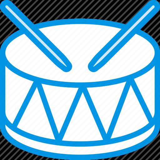 circus, drum, instrument, music, sound, tune icon