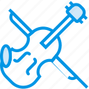 instrument, music, orchestra, sound, tune, violin icon