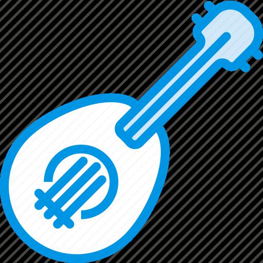 instrument, music, sound, tune, ukulele icon