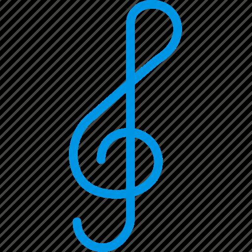 music, musical, note, sound, tune icon