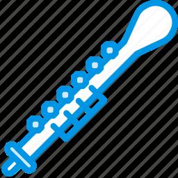 instrument, music, oboe, orchestra, sound, tune icon
