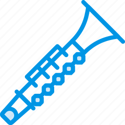 clarinet, instrument, music, orchestra, sound, tune icon