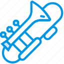 instrument, music, orchestra, sound, trombone, tune icon